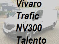 Vivaro Trafic NV300 Talento