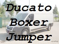 Ducato Boxer Jumper Ladungs.