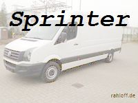 Sprinter Ladungssicherung
