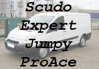 Scudo Expert Jumpy Proace altes Modell bis 06/2016