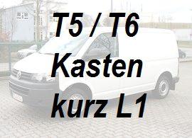 VW T5 / T6 Kasten Kurz L1