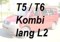 VW T5 / T6 Kombi lang L2
