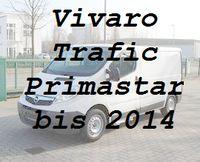 Vivaro Trafic Primastar altes Modell