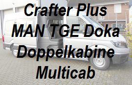 Crafter MAN TGE Plus Doppelkabine