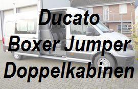 Ducato Boxer Jumper Doppelkabine