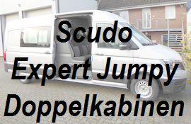 Scudo Expert Jumpy als Doppelkabine