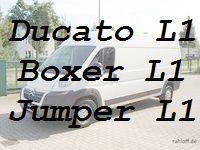 Ducato Boxer Jumper L1