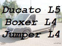 Ducato L5 Boxer Jumper L4