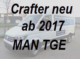 Crafter - MAN TGE neu ab 03-2017