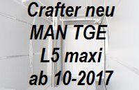 Crafter - MAN TGE neu extralang L5