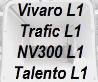 Vivaro Trafic NV300 Talento kurz L1 neu