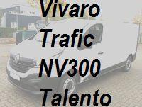 Vivaro Trafic NV300 Talento neu ab 10/2014