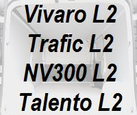 Vivaro Trafic NV300 Talento lang L2 neu