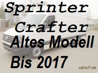 Sprinter Crafter altes Modell