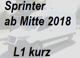 Sprinter L1 aktuelles Model