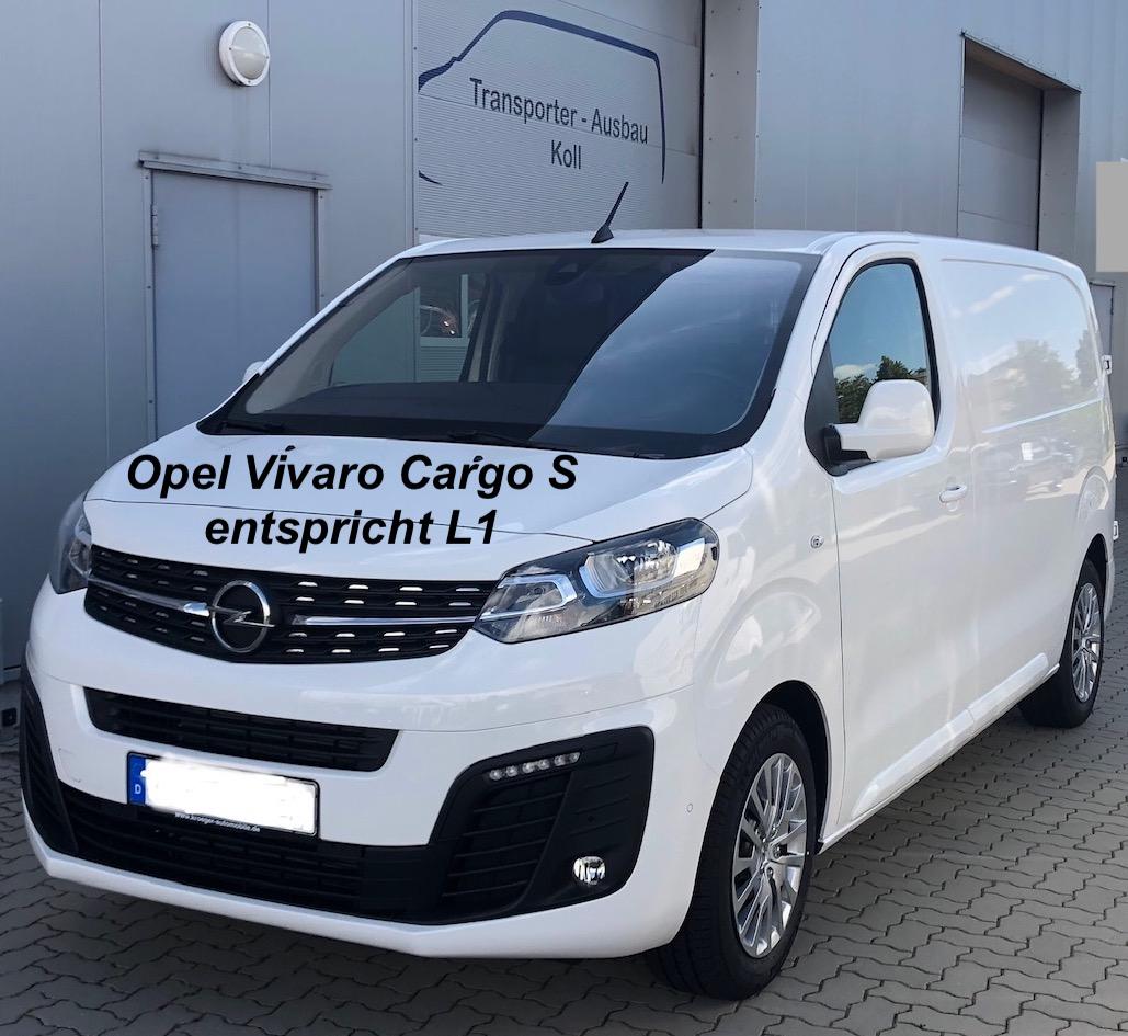 Opel Vivaro Cargo S, entspricht L1