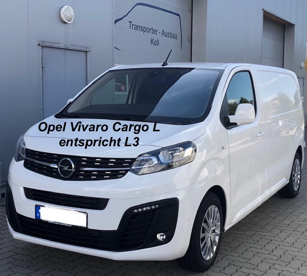 Opel Vivaro Cargo L, (L3)