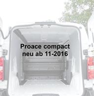Toyota Proace compact - neu