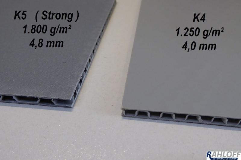 Häufig Hohlkammerplatte CON-Pearl® für Laderaumverkleidungen VB66
