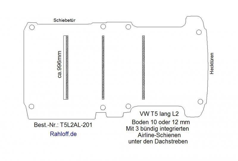boden t5 mit 3 zurrleisten unter den dachstreben. Black Bedroom Furniture Sets. Home Design Ideas