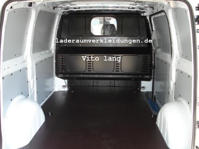 Schön Vito Laderaumschutz Seitlich Aus Kunststoff PP Typ 2   L1 Alt