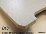 Siebdruckplatte 10 mm hellgrau ca. 3.000 x 1.880 mm