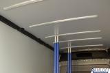 2 x Airlineschiene zur Dachmontage für Sperrbalken