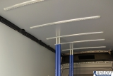 4 x Airlineschiene zur Dachmontage für Sperrbalken
