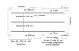 T5 - T6 Boden mit 3 Airline Schienen längs (L2 - T301)