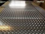 Vivaro Trafic L2 lang Boden Riffelblech Aluminium