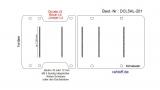 Fiat Ducato L5 Boden Ladungssicherungs - Schienen 5x