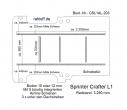 Sprinter Crafter Boden mit 5 Airline-Schienen L1 T203