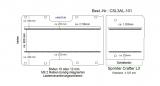 Sprinter Crafter Boden mit Lastenverankerungs- Schienen L3 101