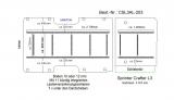 Sprinter Crafter Boden mit Lastenverankerungs- Schienen L3 203
