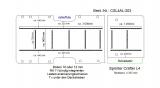 Sprinter Crafter Boden mit 11 Zurr - Schienen L4 T203
