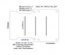 Master Movano Boden mit 3 Ladungssicherungs - Schienen L1 T201