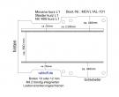 Master Movano Boden mit 2 Ladungssicherungs - Schienen L1 T101