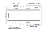 Movano Master Boden mit 2 Ladungssicherungs-Schienen (L2 T101)
