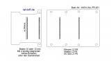 Movano Master Boden mit 4 Ladungssicherungs-Schienen (L3 T201)
