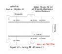 Expert L2, Proace L1, Jumpy M, Boden mit 2 Ladungssicherungs-Schienen L2 neu T101