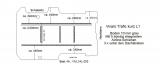 Vivaro Trafic Boden mit 5 Ladungssicherungs-Schienen L1 alt T203