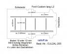 Custom Boden 6 Ladungssicherungs-Schienen L2 T203