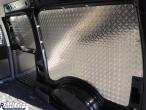 Caddy Aluminium Seitenverkleidung Alu-Lochblech L2