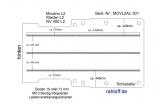 Movano Master Boden mit 3 Ladungssicherungs-Schienen (L2 T301)