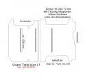 Vivaro Trafic NV 300 Talento Boden mit 3 Ladungssicherungs-Schienen L1 neu T201