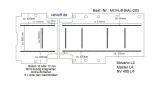 Movano Master NV400 Boden mit 9 Ladungssicherungs-Schienen (L4 T203)