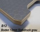 Siebdruckplatte 12 mm dunkelgrau ca. 2.500 x 1.880 mm