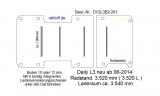 Daily Boden mit 4 Zurrschienen quer L3 neu T201