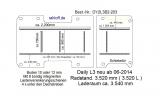 Daily Boden mit 8 Zurrschienen längs + quer L3 neu T203