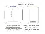 Daily Boden mit 3 Zurrschienen quer L2 neu T201